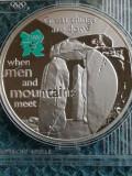Marea Britanie -Jocurile Olimpice - 5 POUNDS 2009 - Stonehenge Argint .925