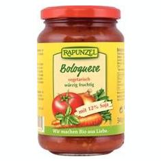 Sos Bolognese Bio Vegetarian cu Soia Rapunzel 340gr Cod: 1300270