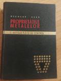 Proprietatile metalelor - Nicolae Geru, 1967