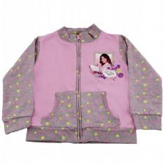 Hanorac Violetta Disney, Roz/Gri, pentru fetite