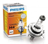 Bec far auto Philips Vision 12342PRC1 +30% H4 12V 55W