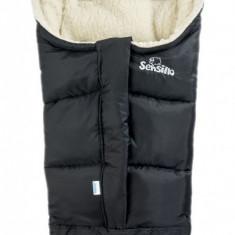 Sac de iarna Sensillo 3 in 1 lana Black