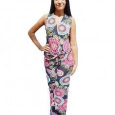 Salopeta chic, de marime universala, model casual multicolor
