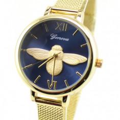 Ceas dama elegant Geneva Gold GV17GTBL
