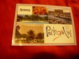 Ilustrata Portugalia cu Reclama Amway , circulat 2004