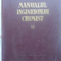 MANUALUL INGINERULUI CHIMIST VOL.6 COMBUSTIA, COMBUSTIBILII SI CHIMIZAREA LOR -