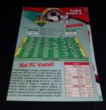 Program FC Vaslui - CFR Cluj