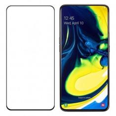Folie Sticla Samsung Galaxy A80Galaxy A90 Wozinsky 5D Full Glue Neagru