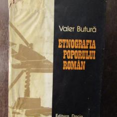 Etnografia poporului român-Valer Butură