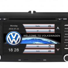 Navigatie Gps VW Golf 5 6 Passat B6 B7 CC Tiguan Touaren Jetta Eos Polo Sharan Amarok Caddy , Windows 6.0 , Dvd Player , Usb , Bluetooth , Card 8GB E