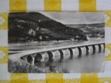 Valea Bistritei - Peisaj lac de acumulare  - vedere circulata 1963