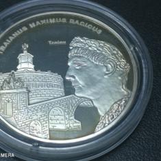 Romani Mari medalie argint pur Traian