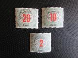 ROMANIA  1919 PORTO=MNH=12