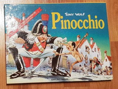 Pinocchio - Tony Wolf. Carte 3D foto