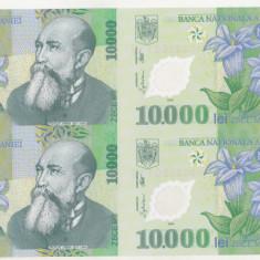 bnk sc  10000 lei 2000 Ghizari - coala de 4 , FARA certificat de autenticitate