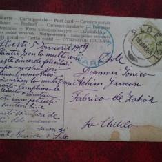 1909-C.P.circ.-Chitila GARA-Ploesci-RARA