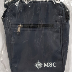 Gentuta  umar MSC Croaziere, material durabil, 23x17x5 cm, noua