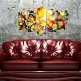 Tablou decorativ multicanvas Pure, 5 Piese, 250PUR2923, Multicolor