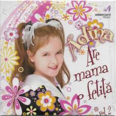 CD Adina – Are Mama O Fetiță Vol. 2, original, muzica pentu copii