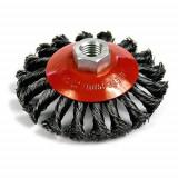 Perie sarma, circulara, cu toroane, M14, 100 mm, Strend Pro GartenVIP DiyLine