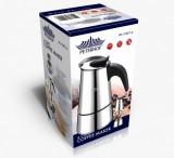 Espressor de cafea manual, 6 cani Peterhof PH-12527-6