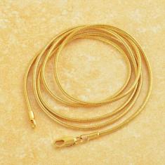 Superb lant 9K GOLD FILLED - SNAKE