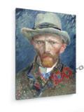 Tablou pe panza (canvas) - Vincent Van Gogh - Self-Portrait - 1887