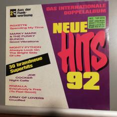 New Hits '92 – Selectii – 2LP Set (1992/BMG/Germany) - Vinil/Impecabil (M)