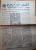 Romania mare 24 septembrie 1993-romania in jocul de interese al marilor puteri