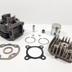 Kit Cilindru - Set Motor + Chiuloasa Scuter italjet Pista 49cc 50cc Racire Aer
