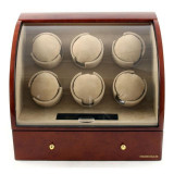 Watch Winder Basel 6 BROWN by Designh tte Made in Germany
