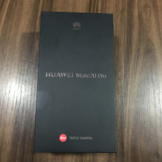 HUAWEI MATE 20 PRO Nou Twilight, Bleu, Neblocat, Single SIM