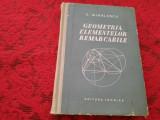 C.Mihailescu GEOMETRIA ELEMENTELOR REMARCABILE RF17/2