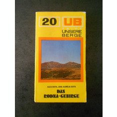 IULIA BUTA - DAS RODNA GEBIRGE (limba germana, Nr. 20, contine harta)