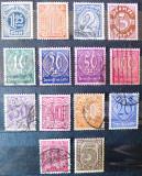 Germania Reich, Cifre - Dienstmarke 1920-1922, stampilate, Stampilat