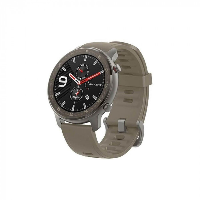 Xiaomi Smartwatch Amazfit GTR 47mm, 1.39 inch, curea silicon, Titanium