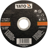 Yato - YT-5923 - Disc abraziv pentru debitator de metal, 125x22x1.2 mm