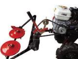 Cositoare rotativa pentru motocultor cu fulie laterala