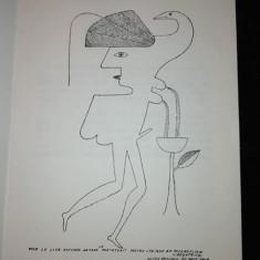 Avangarda  Ilustrație de Victor Brauner : Simulacres d'Innocence , de Jean Raine