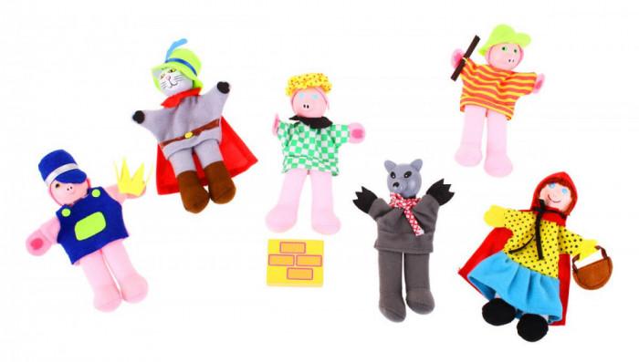 Set papusi degetar Povestile copilariei
