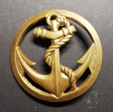 Insigna Regiment Marina Trupele Coloniale Franța Drago Paris Regimentala