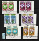 Timbre Africa, Togo, 1973   Cosmos, Aniv. Copernicus, astronomie   Blocuri colţ, Spatiu, Stampilat
