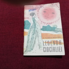 TRAISTA CU POVESTI - S FLOREA MARIAN - LEGENDA CIOCARLIEI