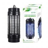 Lampa Electrica Aparat UV Anti Insecte, 30mp, Putere 9W, Inaltime 28cm, 230V, Negru, Palmonix