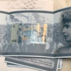 Romania 100 LEI 2018 - 100 de ani de la Marea Unire de la 1 Decembrie 1918
