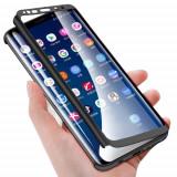 Husa de protectie 360' fata + spate Samsung A8 Plus, Alt model telefon Samsung, Alt material
