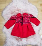 Cumpara ieftin Palton Traditional fetite - Kara 2, 3-6 luni, 6-9 luni