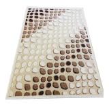 Covor modern Carvino, 80 x 150 cm, polipropilena, Bej