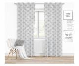 Draperie Clover Grey 140x250 cm - Chic Home, Gri & Argintiu