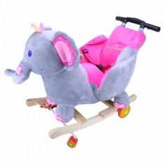 Balansoar pentru copii in forma de elefant